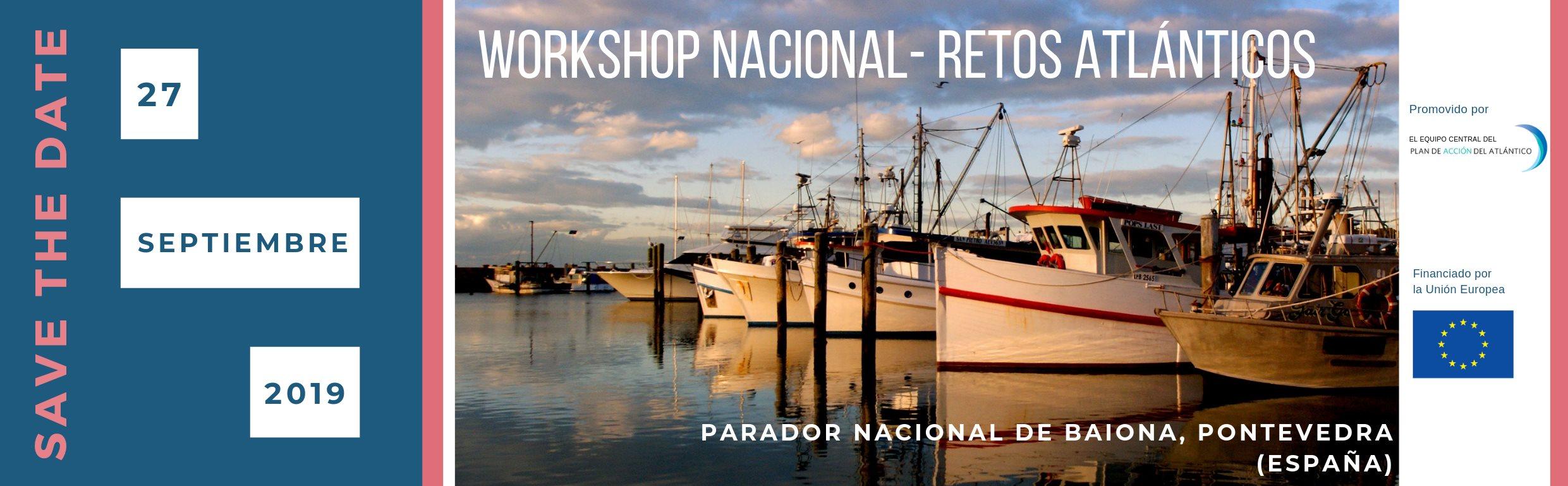 workshop retos atlánticos, nodo nacional, campus do mar