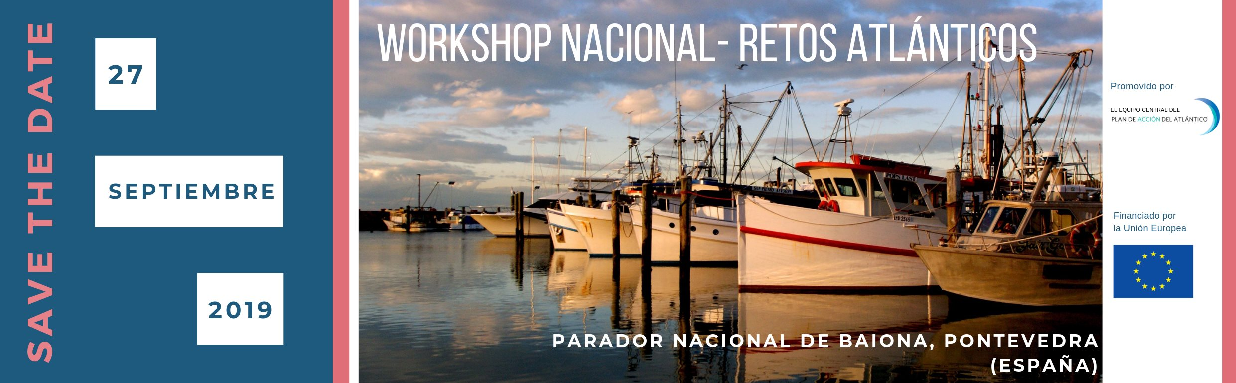 workshop retos atlánticos, nodo nacional, campus do mar